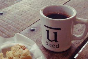 u-shed ユーシェッド@広島市南区宇品 おしゃれなコーヒースタンド
