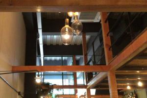 アールカフェ キッチネッテ おしゃれなカフェでベーグルサンドのランチ