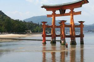 宮島で潮干狩りしてきました!
