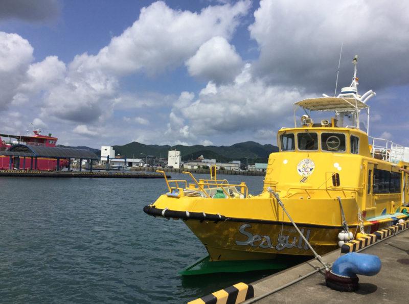 福江島 グラスボートシーガル