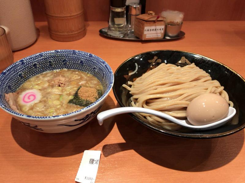 東京ラーメンストリート 六厘舎のつけ麺