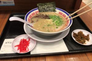 田中商店・お台場で博多長浜ラーメン