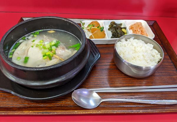 ソウル屋 参鶏湯定食