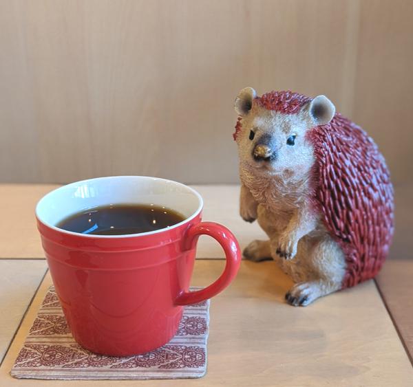 あかいはりねずみ カフェ